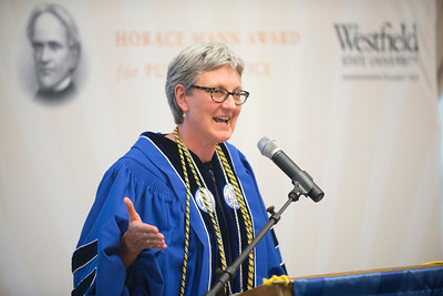 The 2014 Horace Mann Award Ceremony at Westfield State University