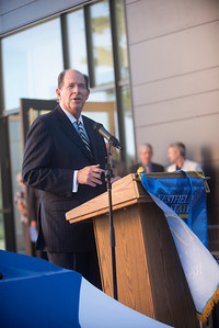Ribbon Cutting ceremony for the opening of U Hall at Westfield State University