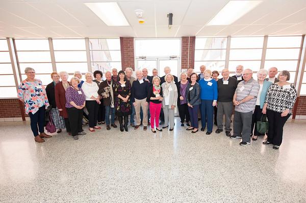 Class of 1967 Reunion, April 2018
