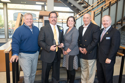Homecoming 2014 at Westfield State University- Alumni of the Year Award ceremony for Carlos Menino