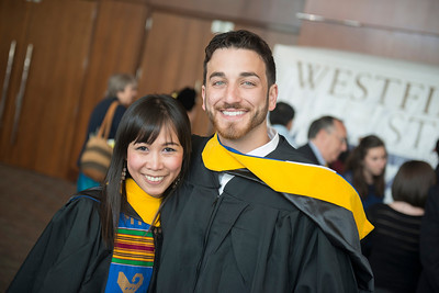 The 2014 Undergraduate Commencement of Westfield State University at the Mass Mutual Center in Springfield, MA