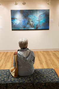 Ruth Kjaer exhibition at the Arno Maris Gallery at Westfield State University, April, 2016