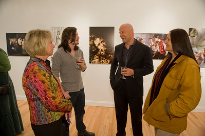 The Kevin Sprague reception at the Downtown Gallery