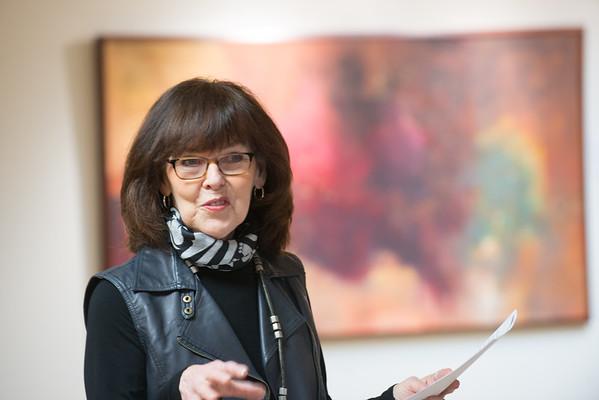 Ruth Kjaer Gallery Talk, Spring 2016