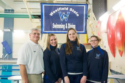 2012 Westfield State University Swim Team