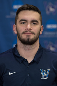 Westfield State Baseball- Headshots, Feb 2019