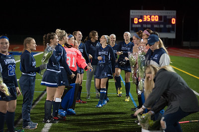 WSU Field Hockey Senior Night, Oct 2018