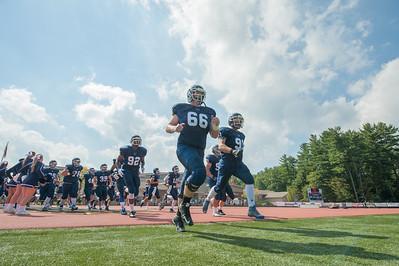 Westfield State University hosts UMASS Dartmouth at Alumni Field, September 19, 2015