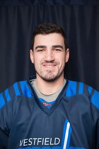 Westfield State University Men's Hockey Team, Nov 2018