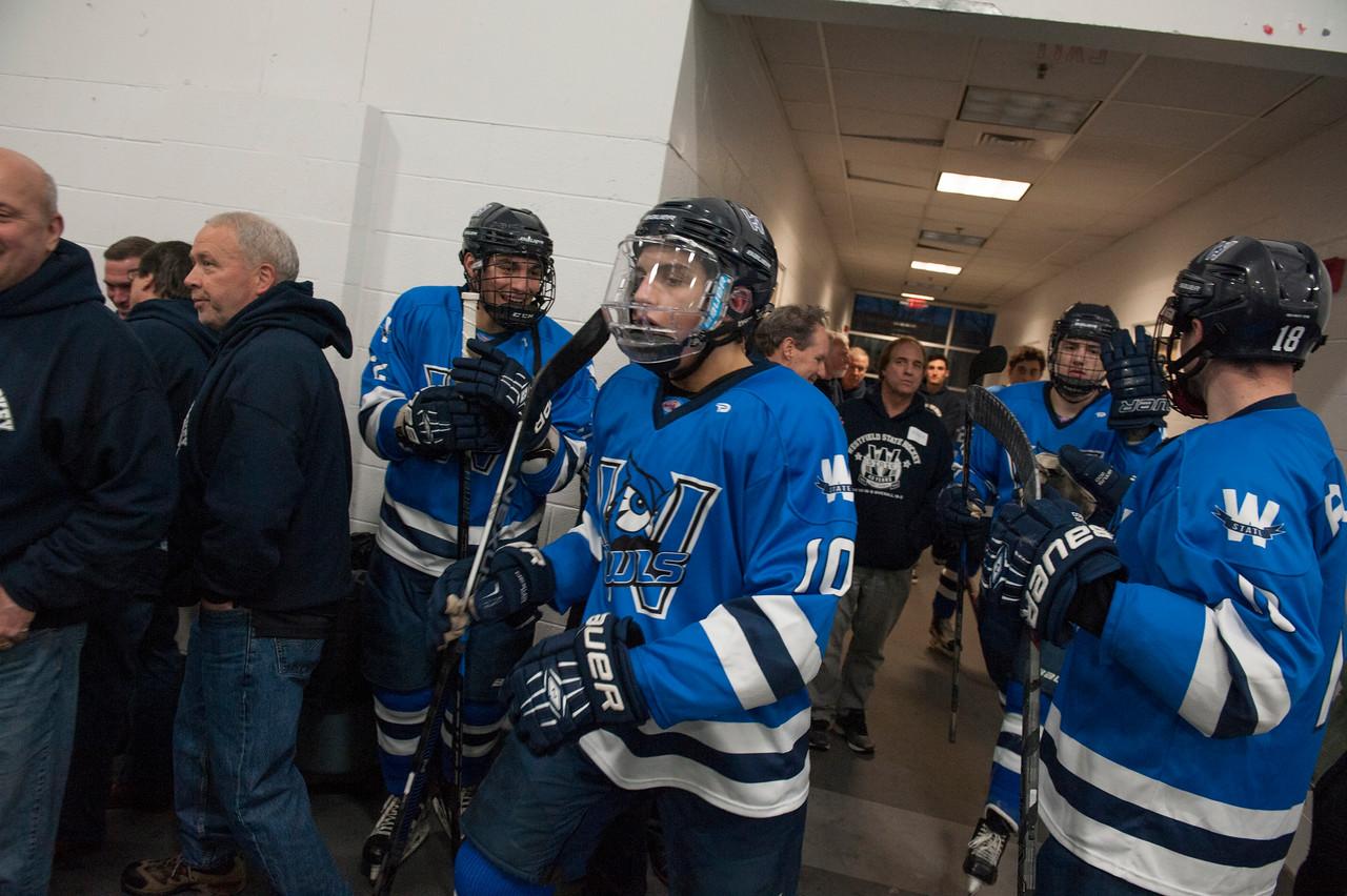 Ice Hockey Senior Night, Feb. 2018