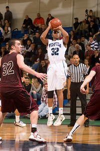 Westfield State University vs Springfield College in men's basketball action