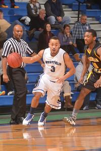 Westfield State University Men's basketball vs Framingham at the Woodward Center