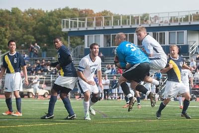 WSU vs. MCLA in men's soccer action