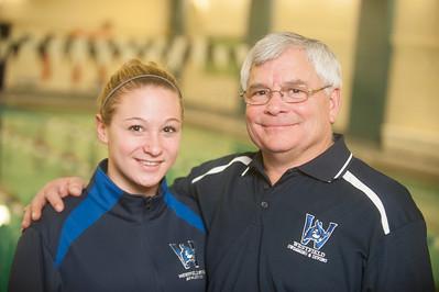 The 2013 Westfield State University Swim Team photos