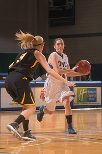 Westfield State University's Women's Basketball vs Framingham at the Woodward Center in Westfield, MA