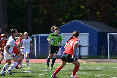 Westfield State vs Bridgetwater State in Women's Soccer action