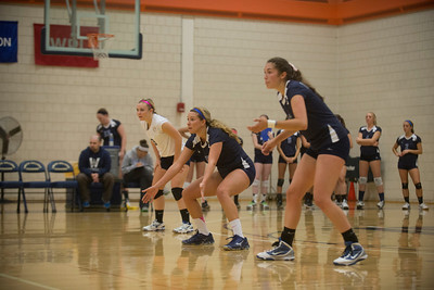 Westfield State vs Smith in Women's Volleyball action 10/26/2013
