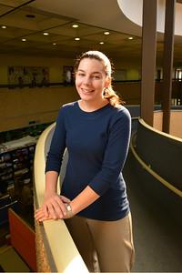Westfield State University Student Interns on the job, November, 2013