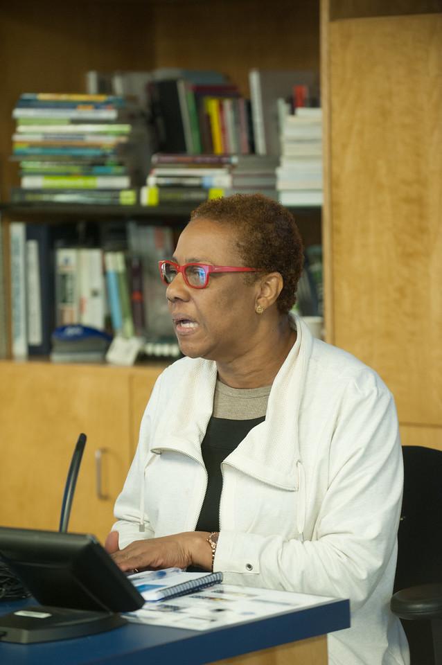 Sharmaine McKenzie, Visiting Faculty, November 2016