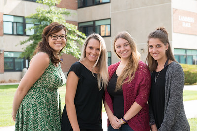 The staff of the Westfield State University Counceling Center, September 2016