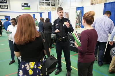 Westfield State Criminal Justice Career Fair, October 2016