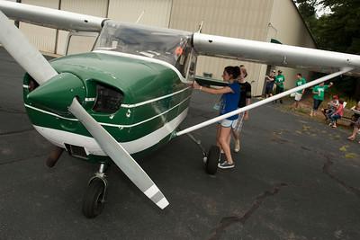 2012 Flight Academy program at Barnes Airport sponsored by Westfield State University