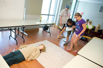 The CSI: Westfield program at Westfield State University, summer 2011