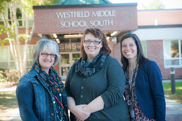 WSU Grad Students at South Middle School, Oct 2017