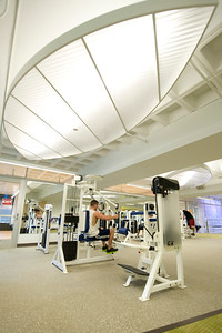 The new, rennovated Wellness Center at We4stfield State University. November 2012