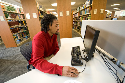 Images from the Ely Library at Westfield State University, Fall 2012