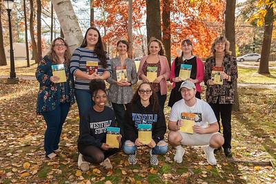 Massachusetts Historical Journal staff & interns, Nov. 2018