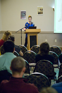 End of year Honors presentations at Westfield State University, Spring 2013