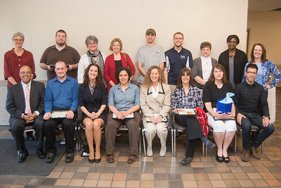 The 2014 Employee Recognition Awards breakfast at Westfield State University