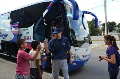 Off the bus_Cuba