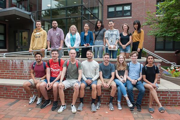 International Exchange Students, Aug 2018