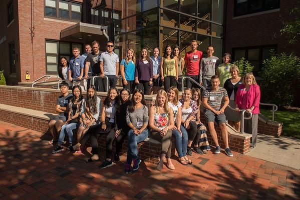 International New Student Orientation 2015