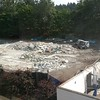 As of August 28, the old dog kennels were just rubble