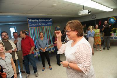 Deb Samwell's surprise retirement party
