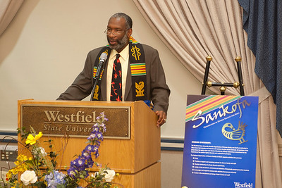 2012 SANKOFA stolling ceremony at Westfield State University