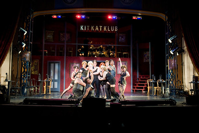 Cabaret at Dever Stage at Westfield State University