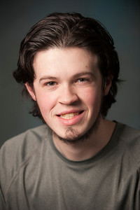 Cast headshots for Fiddler on the Roof on the Dever Stage at Westfield State University