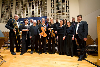Westfield State University community members active in the Hamden Choral Society perfrom at Smith College in January of 2012