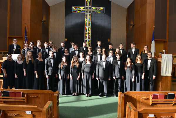 Music- WSU Chorale, Spring 2014