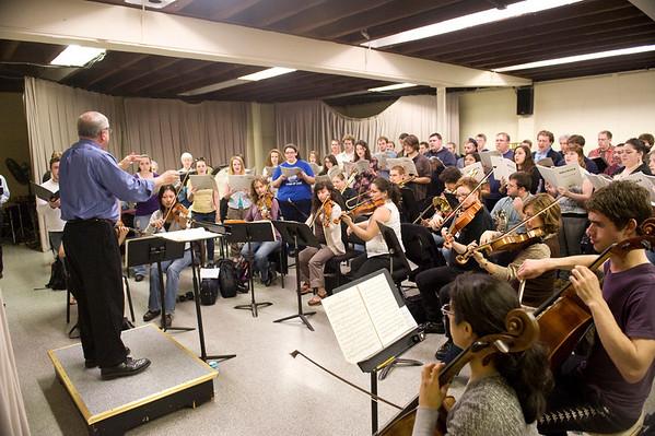 Westfield State Festival Chorus Rehearsal