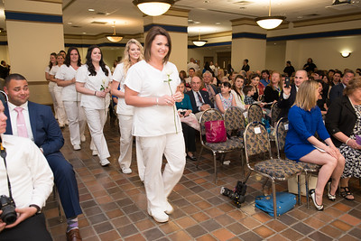 The 2016 Westfield State University Nursing Department Pinning Ceremony