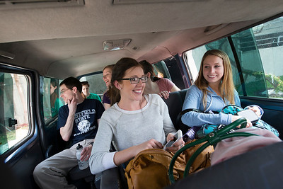Westfield State University Nursing Department students travel to Guatemala on public health mission- First night in Antigua Guatemala