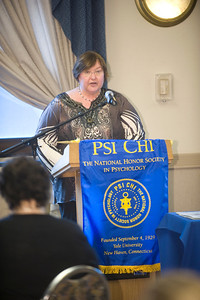 Psi Chi Honor Society Induction Ceremony at Westfield State University