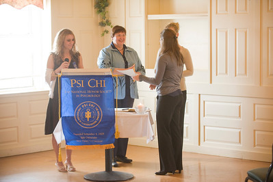 2011 Psi Chi Induction Ceremony at the School Street Bistro in Westfield.
