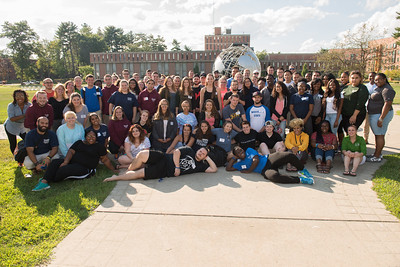 Westfield State University Residence Assistants group shot