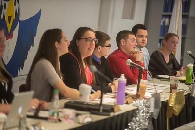 SGA Executive Council Meeting- Fall 2013